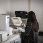 Unsere Digitaldruckmaschine